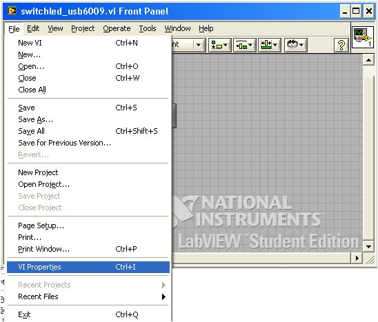 Internet Control of a Labview VI (Part II) (1/6)