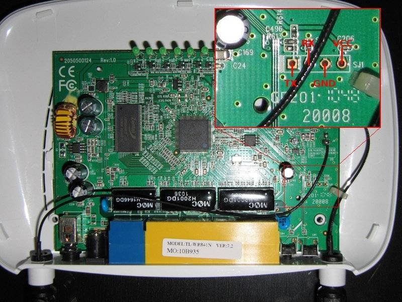 Debrick your TL-MR3420 router with a serial TTL cable (6/6)