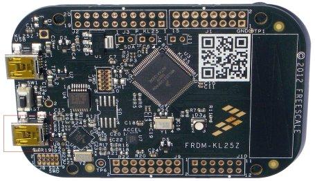 OpenSDA connector on FRDM-KL25Z